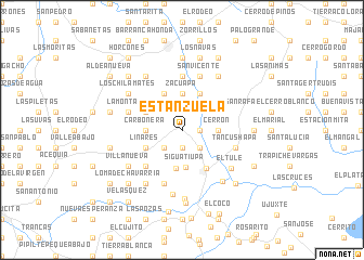 map of Estanzuela