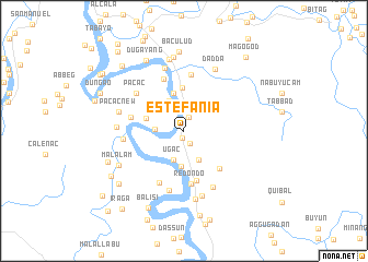 map of Estefania