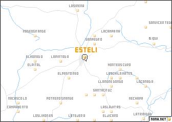 Estel Nicaragua map nonanet
