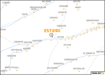 map of Estiva II