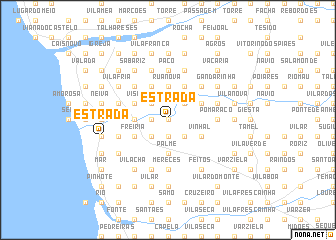 map of Estrada