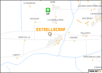 map of Estrella Camp