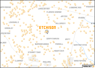 map of Etchison