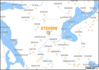 Etkome Senegal map nonanet