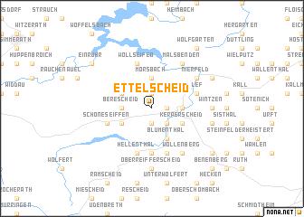 map of Ettelscheid