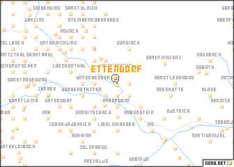 map of Ettendorf