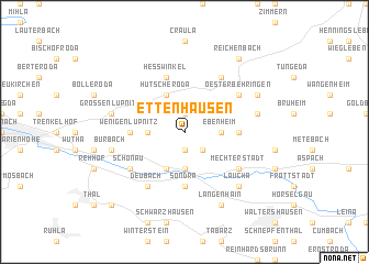 map of Ettenhausen