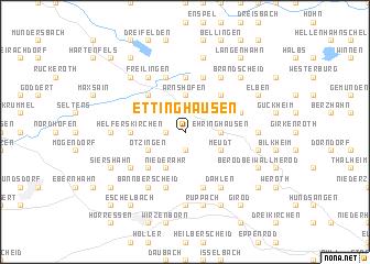 map of Ettinghausen