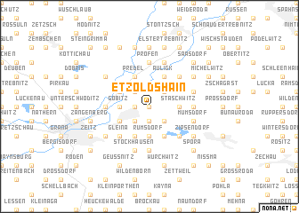 map of Etzoldshain