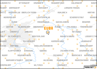 map of Euba
