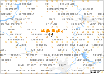 map of Eubenberg