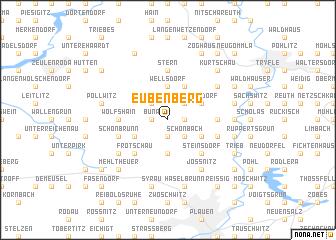 map of Eubenberg