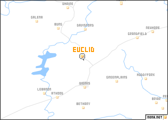 map of Euclid