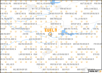 map of Eueln