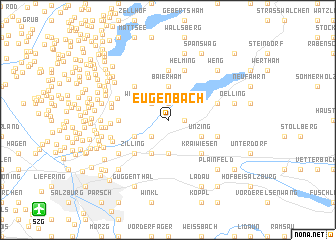 map of Eugenbach