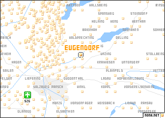 map of Eugendorf