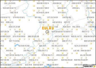 map of Eulau