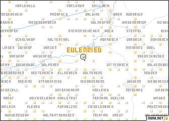 map of Eulenried