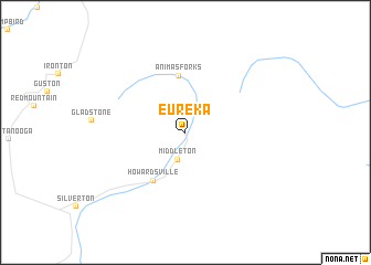 map of Eureka