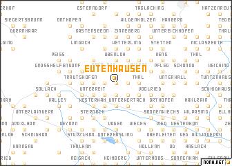 map of Eutenhausen
