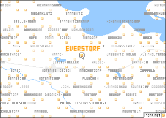 map of Everstorf