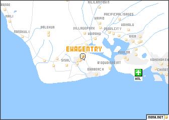 Ewa Gentry United States USA map nonanet