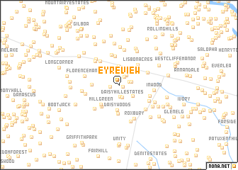 map of Eyre View