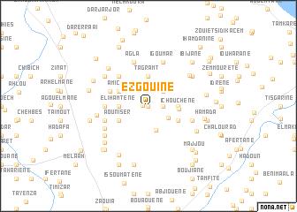 map of Ezgouine