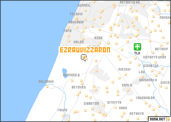 map of 'Ezra Uviẕẕaron