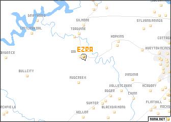 map of Ezra