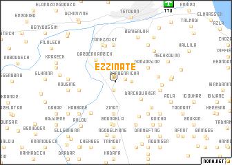 map of Ez Zinate