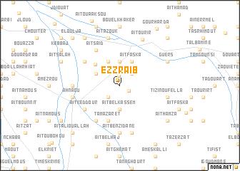 map of Ez Zraïb