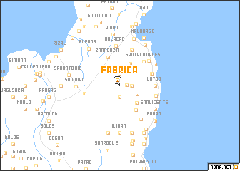 map of Fabrica