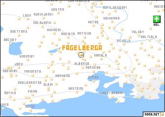 map of Fågelberga
