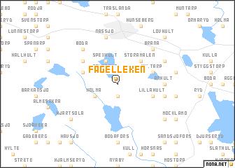 map of Fågelleken