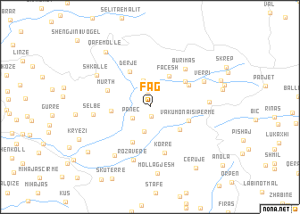 Fag Albania map nonanet