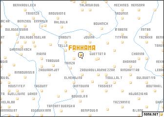map of Fahhama