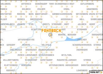 map of Fahnbach