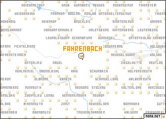 map of Fahrenbach
