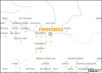 map of Fahrenberg