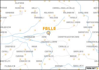 map of Failla