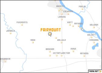 map of Fairmount