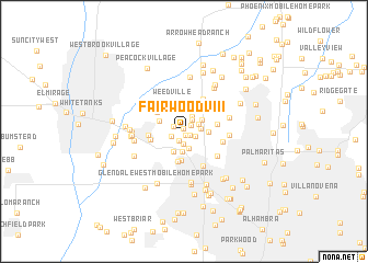 map of Fairwood VIII
