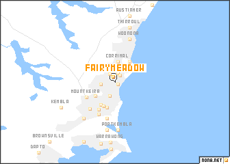 map of Fairy Meadow