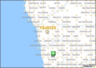 map of Fajozes
