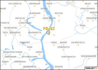 map of Fajsz