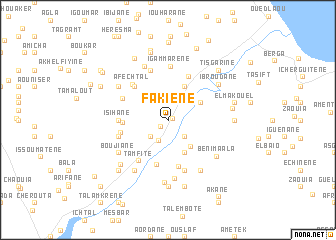 map of Fakiene