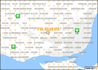map of Falagueira