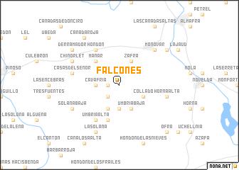 map of Falcones