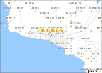 Falkenberg map ile ilgili görsel sonucu Falkenberg map